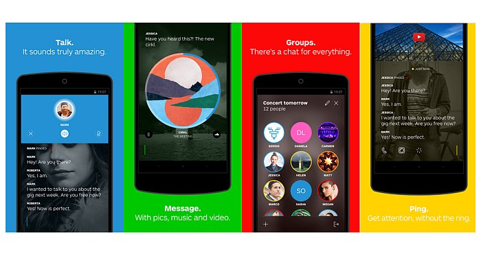Wire Messaging App by the makers of Skype